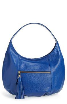 Halogen® Tassel Leather Hobo available at #Nordstrom