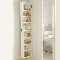 Concealable Door Storage Cabinets: Gail Space And Eliminate Clutter In Your  Bath, Pantry, Or Craft Room Without Remodeling. The Award Winning Slim  Design ...
