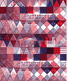 Hannah Waldron - Textile design for R. Newbold of Paul Smith http://hannahwaldron.blogspot.com/2010/11/available-to-buy-now-in-3-different.html #patterns #textiles