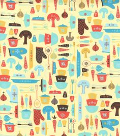 Novelty Cotton Fabric- Ready To Cook