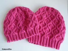ILOA ITSE TEHDEN: Lumottu pipo Knit Or Crochet, Baby Booties, Baby Hats, Beanie Hats, Hats For Women, Fingerless Gloves, Mittens, Headbands, Knitted Hats