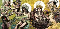 Really nice screen prints from John Dyer Baizley - Baroness band member and artist extraordinaire.