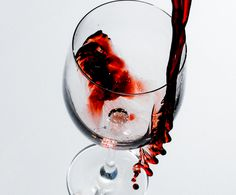 Wine looks as good as it tastes. Pouring Wine, Red Wine, Alcoholic Drinks, Glass, Drinkware, Corning Glass, Red Wines, Alcoholic Beverages, Liquor