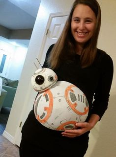 BB-8 (Baby-8) Pregnant Costume