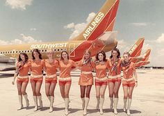 The Best Flight Attendant Uniforms In American History - Racked
