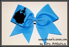 The Happily Ever After Bow Disney Cheer Bows, Cheerleading Cheers, Happily Ever After