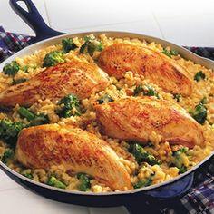 15-Minute Chicken & Rice Dinner Recipe - ZipList