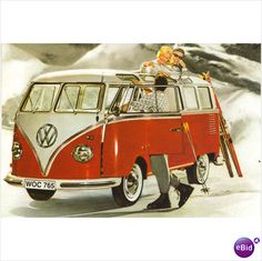 The original ski bus