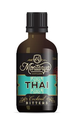 Montanya distillers bitters thai
