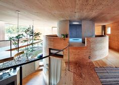 Underground Home Interior   Homes Above And Below: Airplane Hangar And  Underground Homes