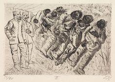 Der Krieg (1924) 03- Gastote - Templeux-la-Fosse, August 1916 (Gazés , Templeux-la-Fosse, août 1916)