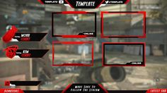 Twitch Overlay PSD Template V3
