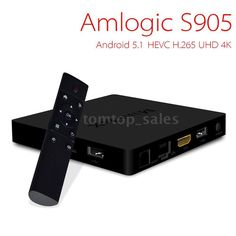 Mini MX S905 Android 5.1 Smart TV BOX Quad Core Kodi XBMC WiFi 1000M 4K 2GHz A53 Arm Cortex, Smart Tv, Hd 1080p, Apple Tv, Quad, Wifi, Cool Things To Buy, Internet, Boxing