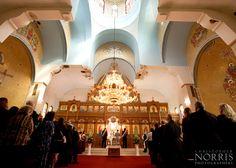 Saint Sava Serbian Eastern Orthodox Church Wedding photography by Christopher Norris Photographers, Cleveland