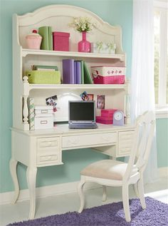 Rosenberry Rooms has everything imaginable for your child's room! Share the news and get $20 Off  your purchase! (*Minimum purchase required.) Sophie Desk #rosenberryrooms