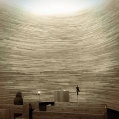 Kampin kappeli / Chapel of Silence in Helsinki, Uusimaa