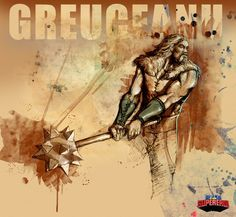 Greuceanu, hero from romanian folklore Ancient Art, Cool Drawings, Mythology, Cool Tattoos, Roots, Artworks, Hero, Magic, Culture