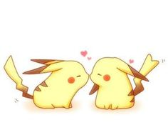 popular tags for this image include: love, pikachu, pokemon, anime and kawaii Pikachu Pikachu, Pikachu Mignon, Pokemon Fan, Pokemon Fusion, Cute Pokemon Wallpaper, Cute Cartoon Wallpapers, Kawaii Wallpaper, Kawaii Love, Pikachu Drawing