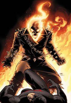 Image of Ghost Rider (Shadowland #5) - Comic Vine