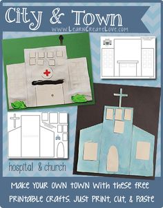 hospital craft ideas build a city station station and worksheets 2201
