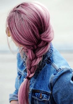 if i could dye my hair...