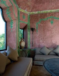 Villa Mabrouka. Yves Saint Laurent's home in Morocco