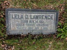 Lela D Lawrence 1901-1961