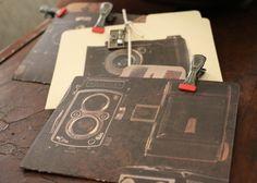Camera File Folders - 7gypsies - 4x6 - easy to make