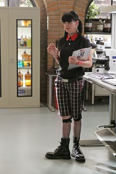 Wacky and Weird, Pauley Perrette as Abby Sciuto is my favorite nerd