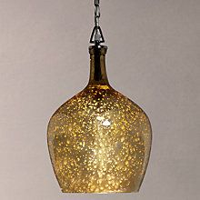 Buy John Lewis Tabitha Copper Pendant Light, Mercury Online at johnlewis.com