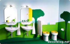 Bathroom design with color - Decor Blog