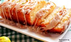 Key lime pound cake is a super moist, eggless and spongy cake baked in a loaf pan and drizzled with a sugar glaze on top.