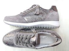 Gabor cipő. Gabor shoes. 2018 tavasz/nyár collection. Eladó. -40% az eredeti árból. Szürke bőr sportcipő. #gaborshoes #gaborshoes2018 #eladó #forsale #sale #akció #-40% #eladócipő #shoes #womenshoes #bőr #bőrcipő