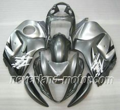 SUZUKI GSX-R 1300 2008-2009 Hayabusa ABS Verkleidung - Grau/Silber