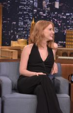 Jessica Chastain guesting at 'The Tonight Show With Jimmy Fallon' in LA http://celebs-life.com/jessica-chastain-guesting-at-the-tonight-show-with-jimmy-fallon-in-la/  #jessicachastain