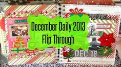 A Look At My First December Daily | Flip Through