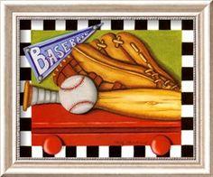 Béisbol Pósters por Kathy Middlebrook en AllPosters.es