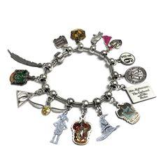 Harry Potter™ Officially Licensed FULL Charm bracelet (Pandora™ Compat - Wizarding Wares