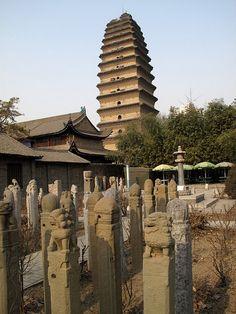Small Wild Goose Pagoda - Xi'an, China
