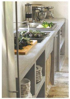 cement kitchen