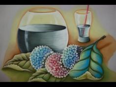 Como Pintar : Gotas de Orvalho - YouTube