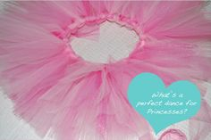 How to Make a Tutu - it has three different colors of tulle strips.