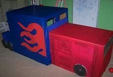 Optimus Prime fort