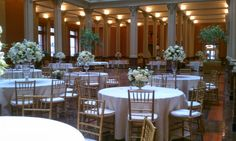 The Landmark Center: St. Paul, MN.  Flowers by Spruce Flowers & Home