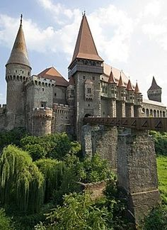 Corvin Castle, also known as Hunyadi Castle or Hunedoara Castle, is a Gothic-Renaissance castle in Hunedoara, Romania. It is one of the largest castles in Europe.