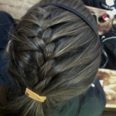Softball hair! <3 Or any sport!