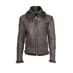 SSD-601 Lammy Jacket Cold Day, Sophisticated Style, Motorcycle Jacket, Cool Style, Collections, Leather, Jackets, Black, Fashion