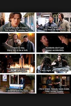 Supernatural logic