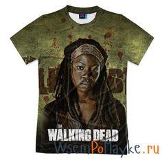 Мужская футболка 3D с полной запечаткой Walking Dead купить в интернет магазине WsemPoMayke.Ru http://wsempomayke.ru/product/manshortfull/1074553  Доставка по России курьером или почтой, оплата при получении. Посмотреть размеры и цену > http://wsempomayke.ru/product/manshortfull/1074553