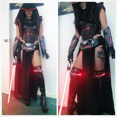 Raquel Sparrow plays a great Sith Witch!